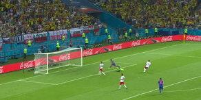 Polen - Kolumbien: Falcao erhöht zum 0:2