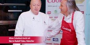 "Rudolf Voka kocht ""Filetsteak mit Frühlingsgemüse"""