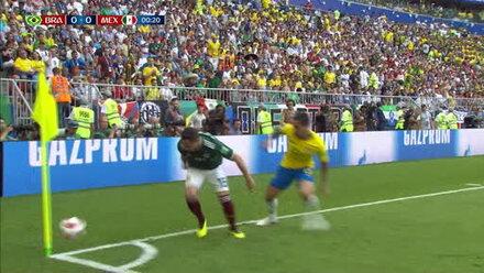 Brasilien zaubert sich ins Viertelfinale