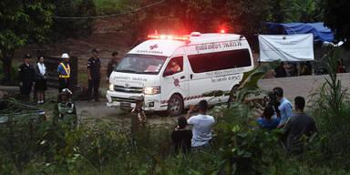 Thailand Höhlendrama Rettung
