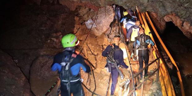Tham Luang Höhle Höhlendrama Thailand