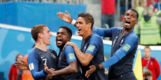 Franzosen heiß auf den 2. Titel