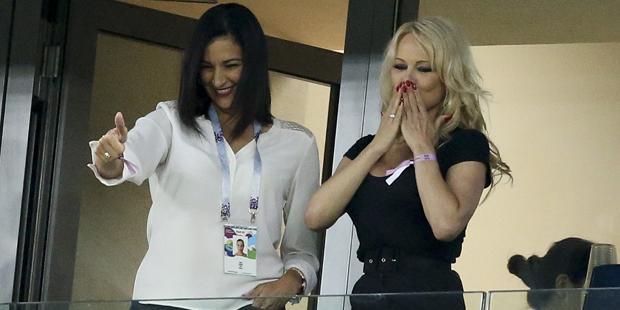 Pamela Anderson WM Fußball