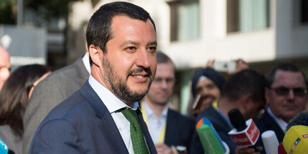 Salvini deutet Mitschuld der EU an
