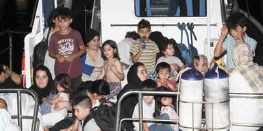 Österreich nimmt keine der 450 Bootsflüchtlinge aus Italien auf
