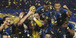 Frankreich – Kroatien: Das sind die Highlights