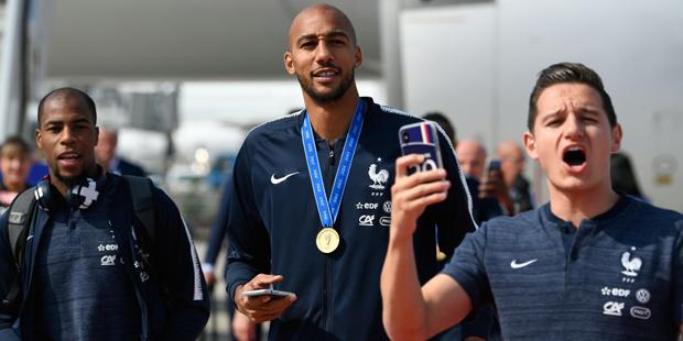 Paris Empfang WM Frankreich Nzonzi