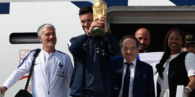 Paris Empfang WM Frankreich LLoris
