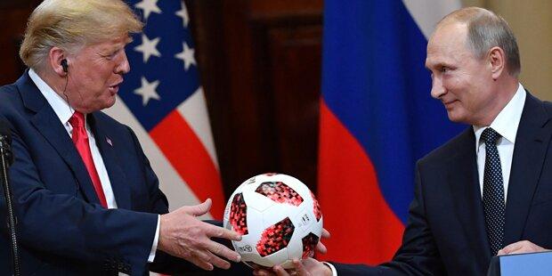 Enthüllt: Putin bot Trump geheimen Deal an