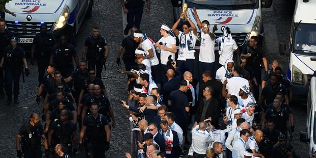 WM Frankreich Paris