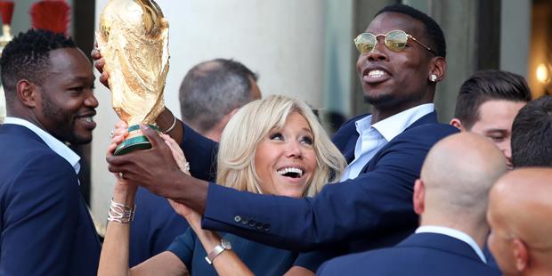 Frankreich Empfang Paris WM