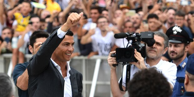 Mega-Empfang: 'Ronaldo-Day' in Turin
