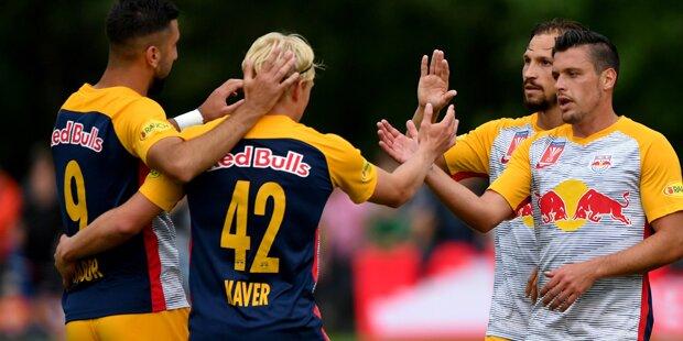 6:0! Bullen ballerten Oedt im ÖFB Cup weg