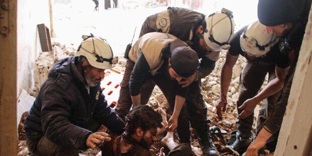 Israel rettet 800 Weißhelme aus Syrien!