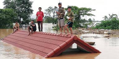 Katastrophe: Damm bricht in Laos - Zahlreiche Todesopfer