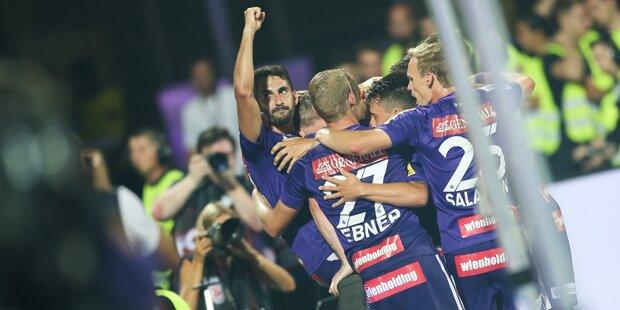 2:1! Austria startet Bundesliga mit Sieg