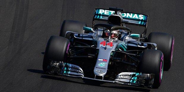 Ungarn-GP: Pole Position für Hamilton