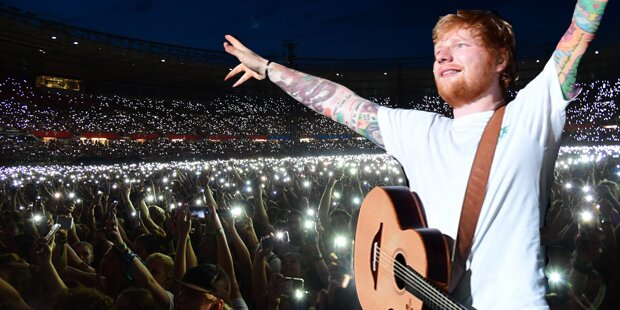 Ed sheeran wien 2018