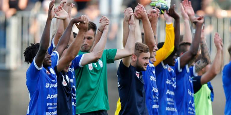 Hartberg mit Premierensieg in Bundesliga
