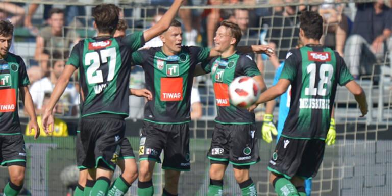 Innsbruck feierte ersten Sieg gegen Altach