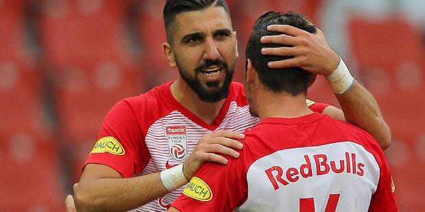 2:0: Salzburg holt sich Sieg gegen Austria