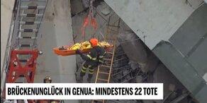 Brücken-Unglück in Genua