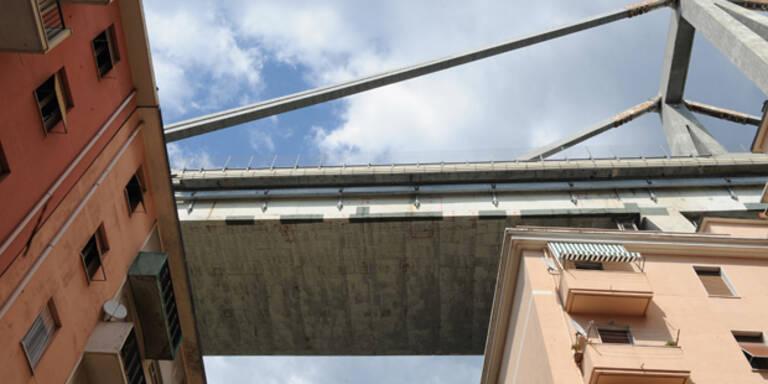 Alarm: Brücken-Reste in Genua drohen einzustürzen