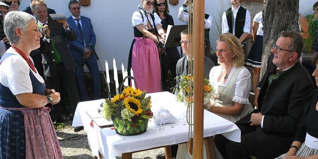 Kneissl Hochzeit