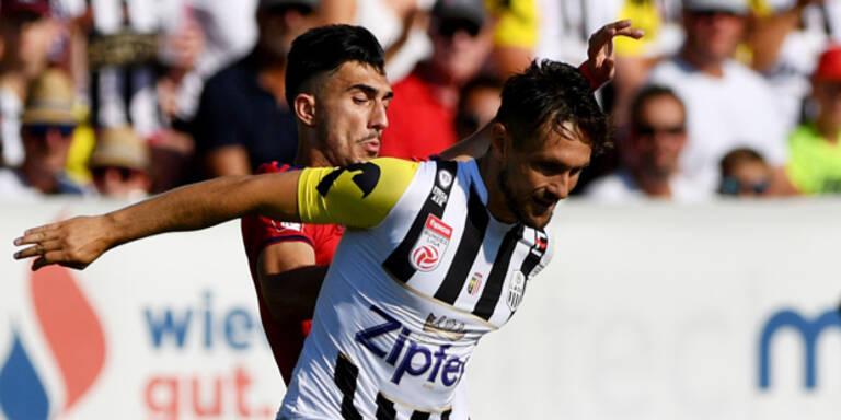 1:2-Pleite! Rapid in Liga weiter in Krise