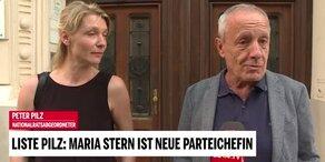 Liste Pilz: Stern jetzt offiziell neue Parteichefin