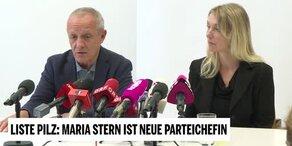 Pilz stellt Neo-Listen-Chefin Maria Stern vor