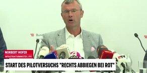 Minister Hofer präsentiert Projekt