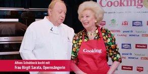 "Birgit Sarata kocht ""Glutenfreien Kaiserschmarrn"""