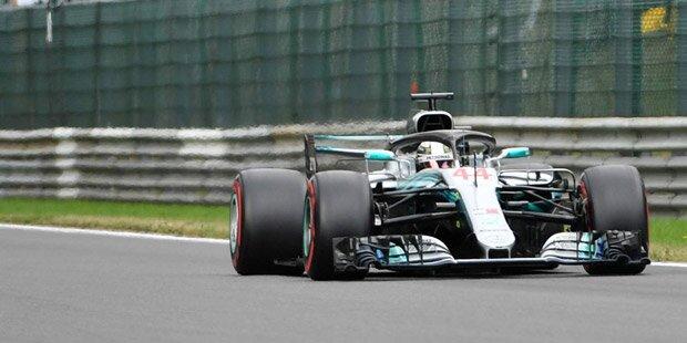 Hamilton holt Sieg in Monza