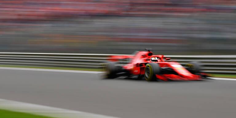 Vettel siegt bei Crash-Rennen in Spa