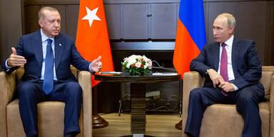 Putin und Erdogan beschließen Schicksal von Idlib