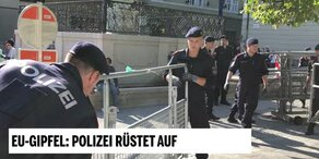 Bei EU-Gipfel: Alarmstufe Rot in Salzburg