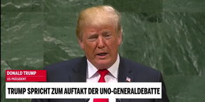 Trumps Rede in voller Länge