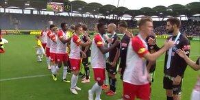 Salzburg gegen Sturm - Die Highlights