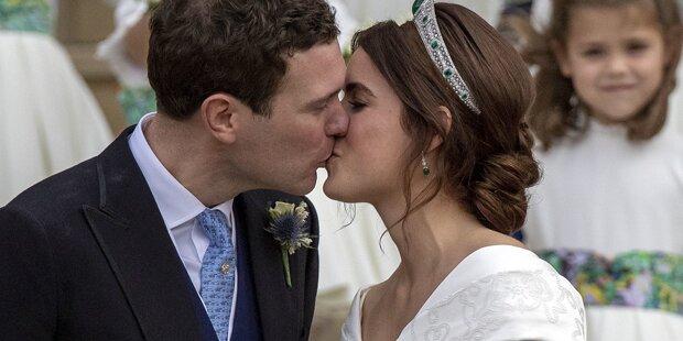 Eugenie verschwand von ihrer eigenen Hochzeit