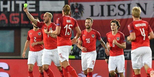 Arnautovic schießt Österreich zum Sieg