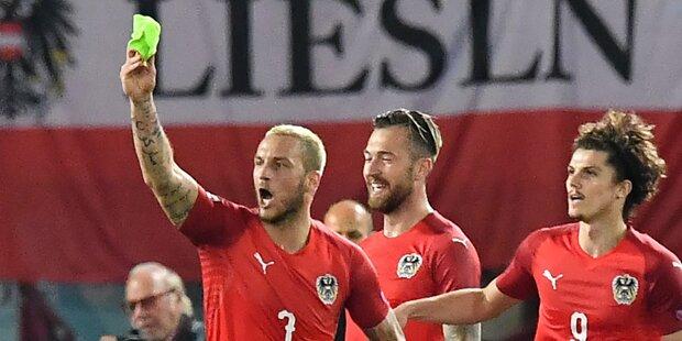 ÖFB-Team gegen Dänemark ohne Arnautovic