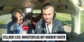 Fellner! LIVE: Minsiterflug mit Norbert Hofer
