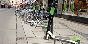 Erste Verbote für E-Scooter in Wien