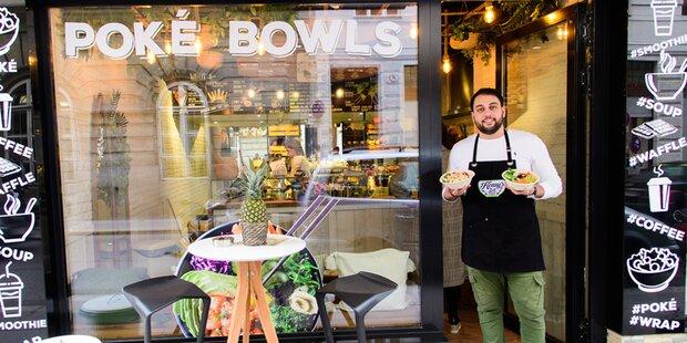 Poké-Bowls: Neuer Food-Hotspot in Wieden