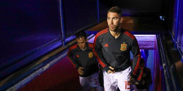 Sergio Ramos wurde bei Dopingkontrolle positiv getestet
