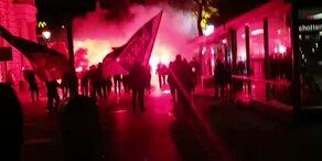 Bosnien-Fans feiern