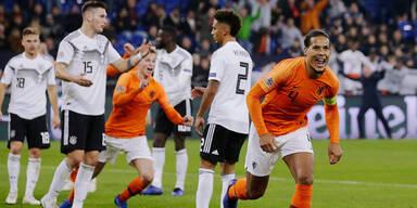 2:0-Führung verspielt: Deutsche stinken gegen Holland ab