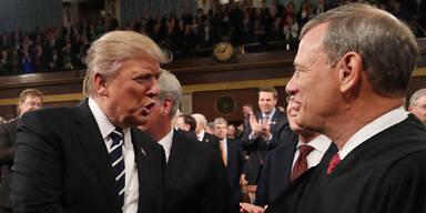 Vorsitzender von oberstem US-Gericht kritisiert Trump