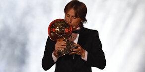 Luka Modric gewinnt Ballon d'Or